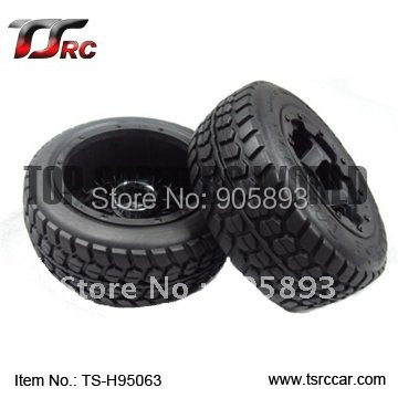 5T Rear Highway-road Wheel Set For 1/5 HPI Baja 5T Parts(TS-H95063),wholesale and retail+Free shipping! free shipping 112118 2 pieces set drive axles rear rear wheel shaft for fs racing mcd fg cen reely 1 5 scale rc car