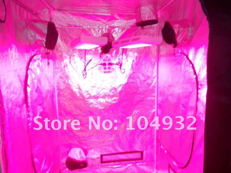 New 1pcs 120*120*200CM grow tent with 2 pcs 120W  led grow light Sold as a whole 120 200 1155036