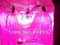 Nuevo 1 unids 120*120*200 CM tienda de cultivo con 2 unids 120 W llevados crecen ligeros Vendidos en su conjunto