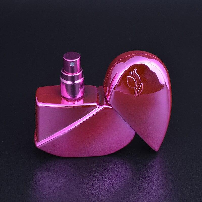 2019 Srce Oblik Parfem Boca Refillable Prazna 25ml Putovanja Mini - Alat za njegu kože - Foto 4