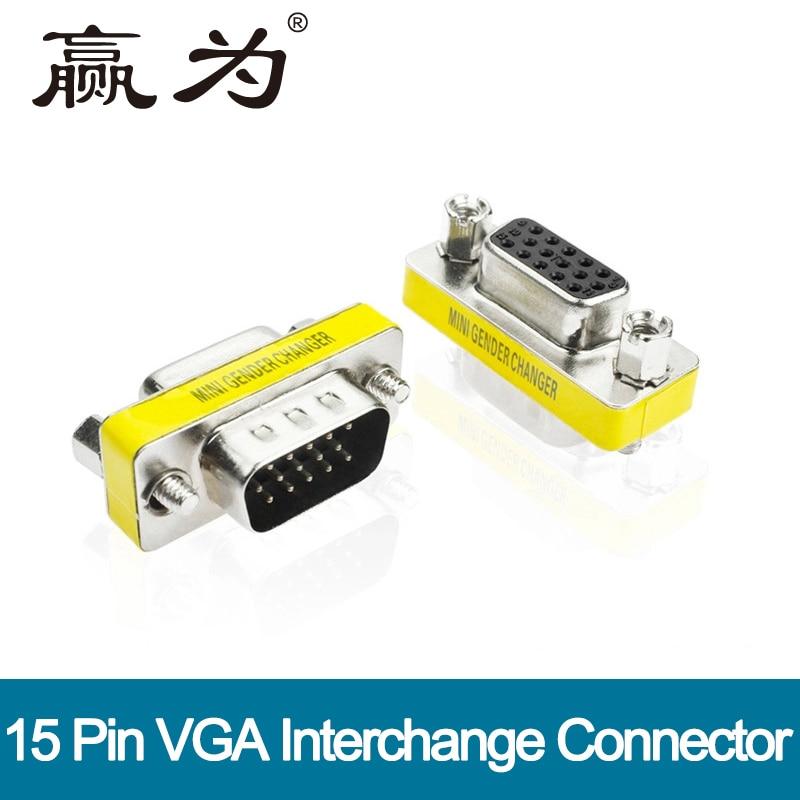 1080 P VGA TO VGA высокой PREMIUM HDTV VGA Кабо мужчинами/мужчин и женщин/женский женский VGA разъем ...