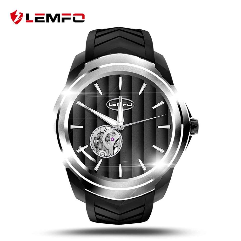 LEMFO LF17 Smart Watch Smartwatch 512MB + 4GB Watch Phone Support SIM TF Card Smartwatch Android Heart Rate Monitor 3G GPS celiadwn smart watch android 5 1 smartwatch phone 3g mtk6580 512mb 4gb with 2 0 camera wifi gps sim card clock vs x200 dm98