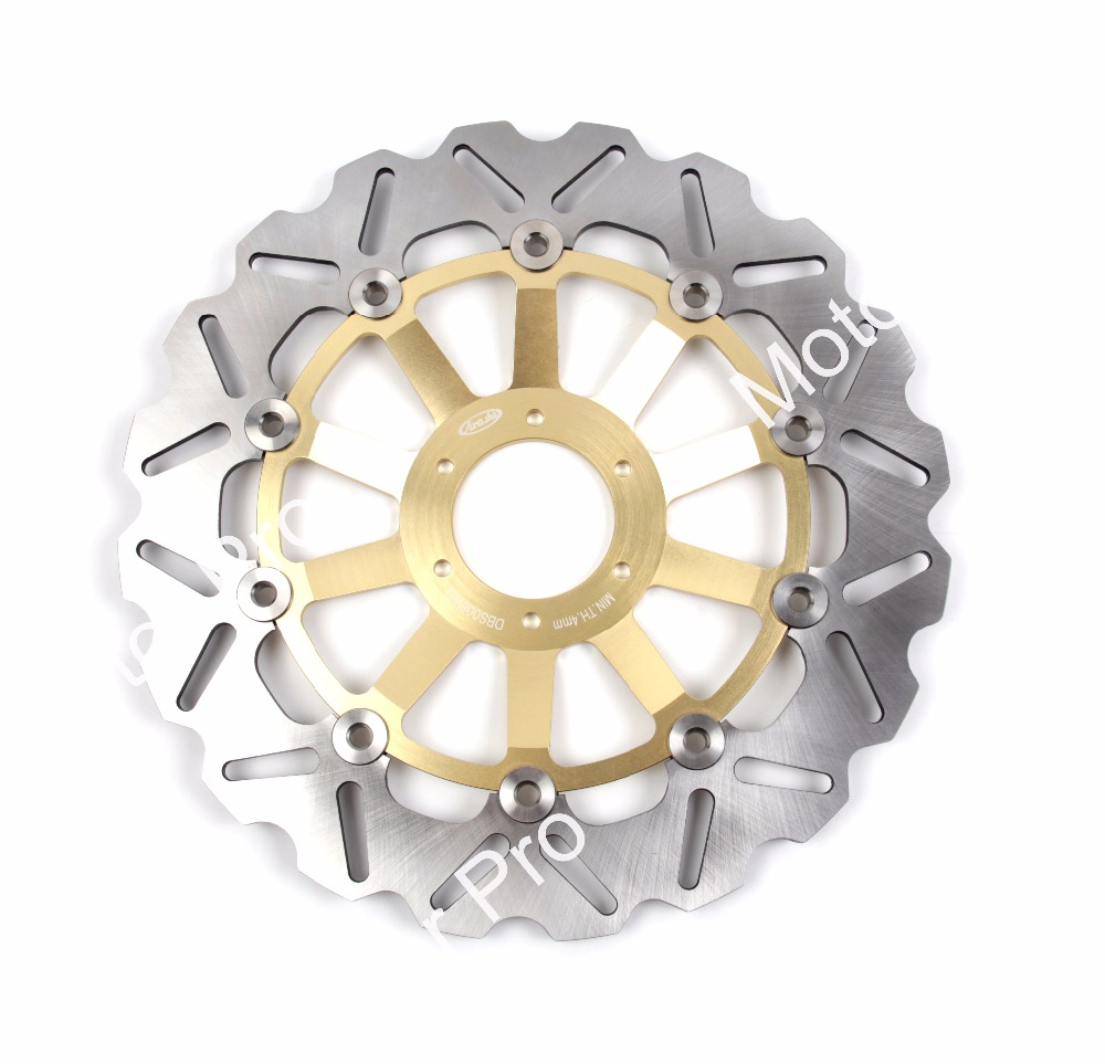 1 PCS FOR HONDA HORNET 250 1996 1997 1998 1999 2000 2001 Floating Front Brake Disc Rotor brake disk CNC aluminum деталь шасси oem vr 7 lca 1996 2000 honda civic ek ej