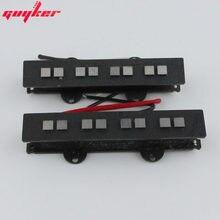 GUYKER wszystkie AlNiCo kwadratowy słup elektryczny z magnesem przetworniki gitarowe 1 zestaw JB jeden pickup szyi/most