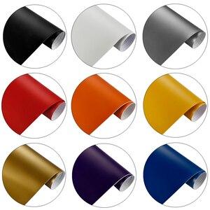 Image 3 - Film autocollant en Film vinyle mat, sans bulles, emballage de voiture, moto, accessoires de voiture, autocollants, décalcomanies