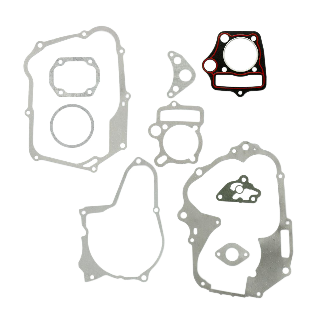 <font><b>Motor</b></font> Motorbike Cylinder Head Gasket Set for <font><b>110CC</b></font> Dirt Pit Bike <font><b>ATV</b></font> Engine Head Cylinder Gasket Head Gasket Kit image