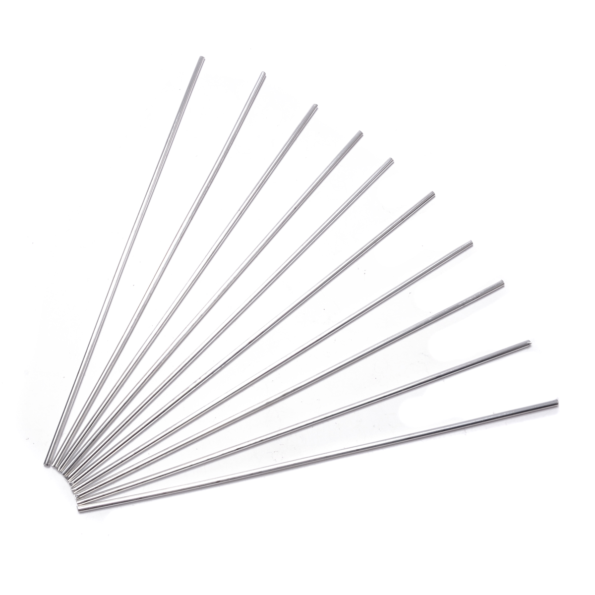 10pcs Aluminium Low Temperature Welding Brazing Rod 3.2mm
