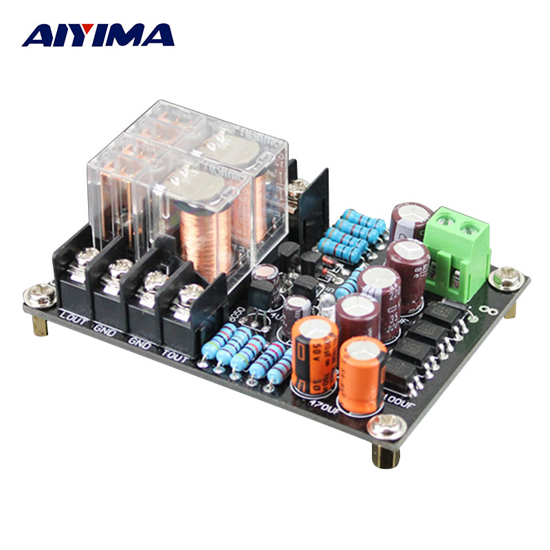 AIYIMA Audio Portable Speaker Protective Board Digital Amplifier Dedicated Speaker Protection Board DIY For Home Theater