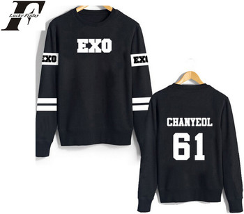 Women Exo Hoodies Harajuku