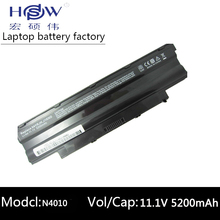 battery for Dell N5010D-148,N5010D-168,N5010D-258,N5010D-278,N5010R,N5030,N5030D,N5030R,N7010D, N7010R 04YRJH,06P6PN 312-0233