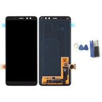 ЖК дисплей Сенсорный экран Дисплей планшета Ассамблеи для samsung Galaxy A8 2018 A530 Замена ЖК дисплей Экран Панель с инструментами
