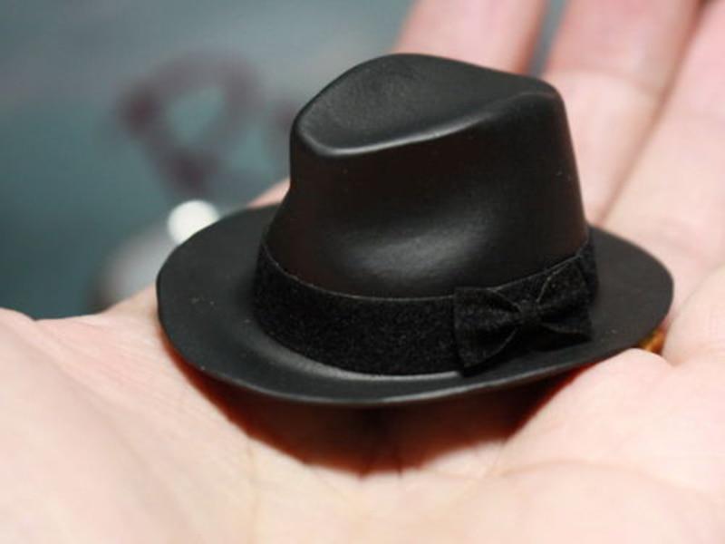 1/6 Scale Male Vintage Cap Brown Black Bowler Hat fit 12 ZC PH HT KUMIK Figure ToysHot Toys 1:6 White/ red/black fashion