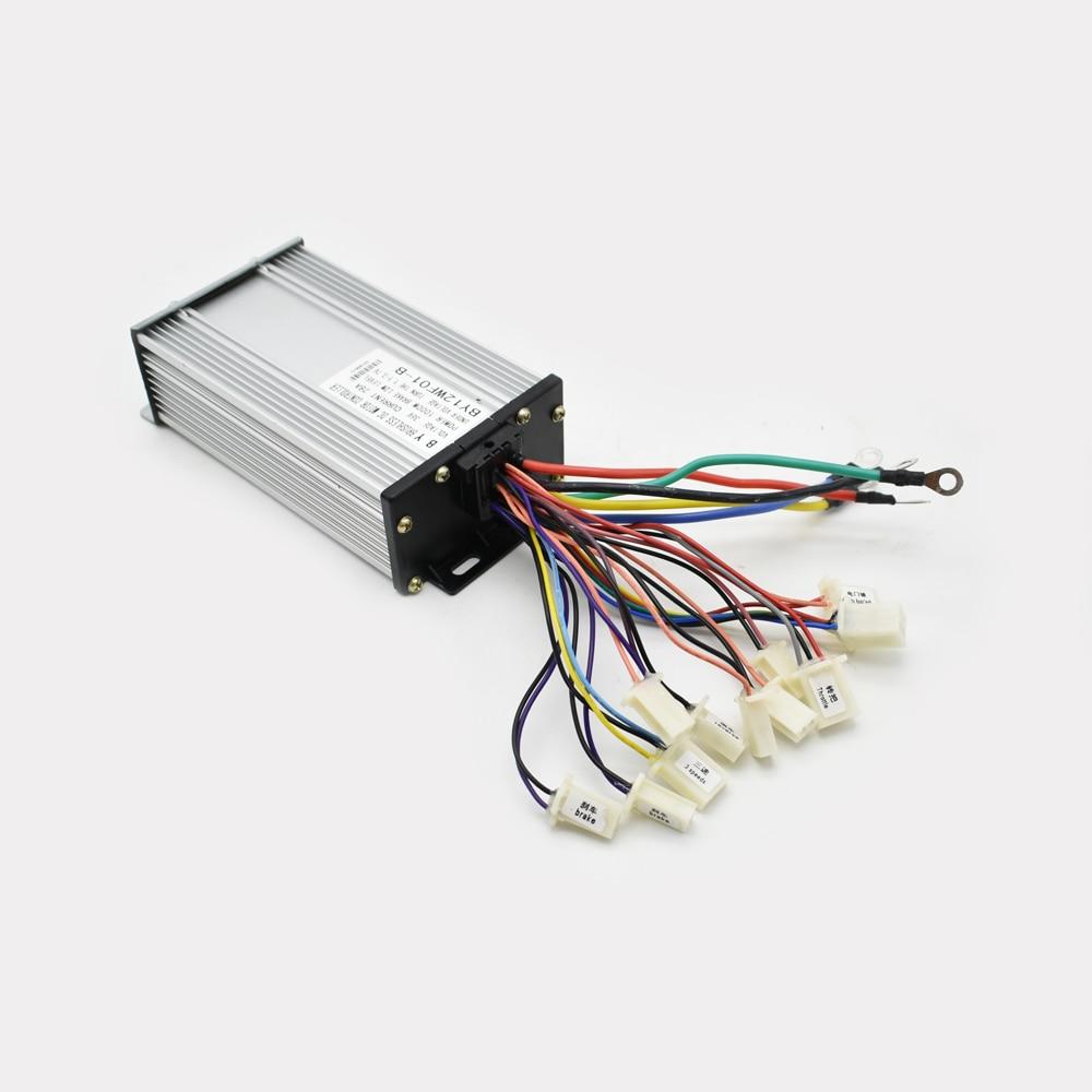 36V 800 W bezkomutátorový stejnosměrný řadič elektrický tříkolka pro motorové senzory / bezsenzorové motory