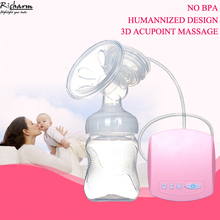 High Quality Brand Automatic Mamadeira Milk Pumps Electric Breast Pump Natural Suction Enlarger Kit USB Milksucker