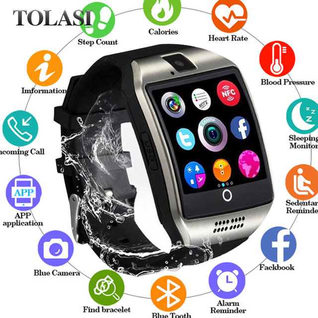 Watches Digital Clock Ceasuri Phone--Box Sport Led Android Hodinky Women Relogio Man