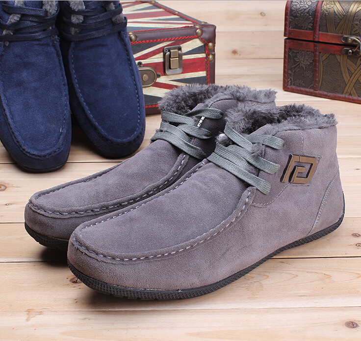 huge selection of bf02f 5d14c Super Warm Fur Leather Russian Style Men Snow Boot Yeezys ...