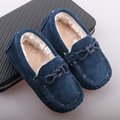 2016 Autumn Winter Fashion Plush Baby Shoes Plus Cotton Thickening Children Shoes Size 21-28 Leisure Tassels Casual Boat Shoes