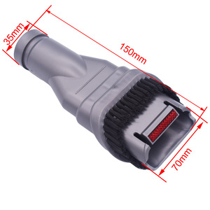 Image 4 - 7x Attachment Crevice tool Combination tool bristle brush Kit replacements for dyson V7 V8 adapter Tool kit vacuum cleaner parts