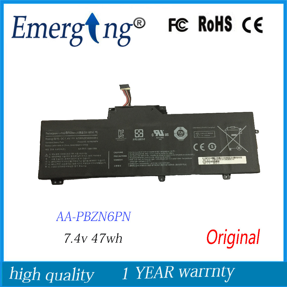 все цены на 7.4V 47Wh New Original Laptop Battery for Samsung 350U2B 350U2A AA-PBZN6PN NP350U2A NP350U2B Series BA43-00315A онлайн