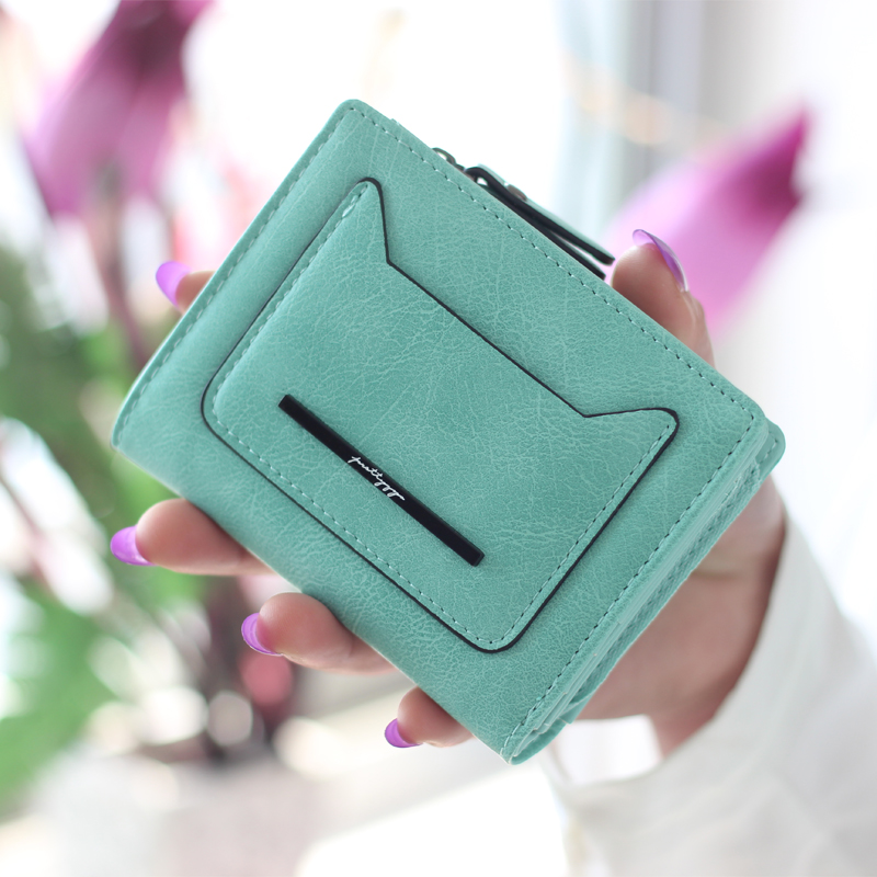 2017 New Fashion Lovely Wallet Female Leather Small Change Clasp Purse Money Card Coin Holder Carteras Girls Women Purses 2017 new fashion design women cute pu leather change purse wallet bag girls coin card money pouch portable purse small bag jan12