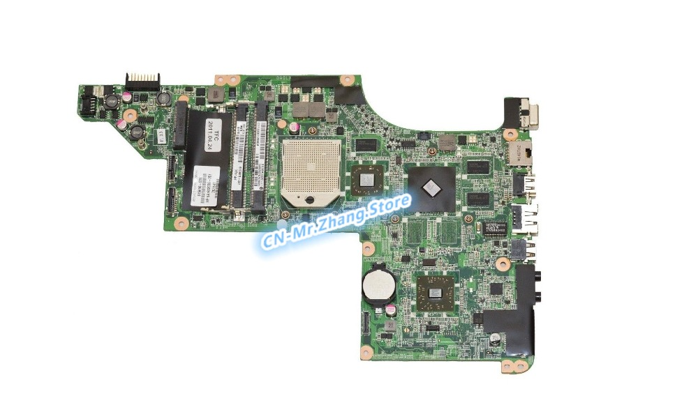 SHELI pour HP pavillon DV7T DV7-4000 carte mère d'ordinateur portable 615686-001 DA0LX8MB6D0 HD5470M GPU 512 MB RAM DDR3
