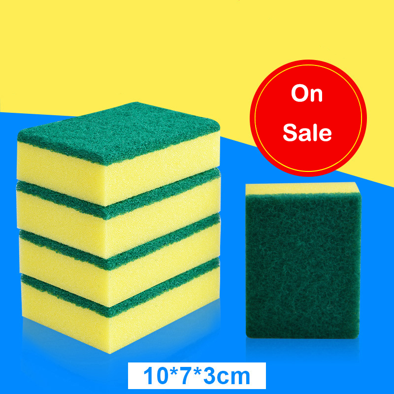 12pcs car wash and maintenance Automobiles Waxing Sponge Dishwashing Wipe Magic Cleaning Sponge Wipe car accessories a dozen/lot