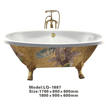 CBMMART Chinese Various Color Big Sizes Bathtub With Feet