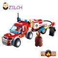 Criança diy blocos de construção compatível com veículos de resgate caminhão de bombeiros fogo escola de aprendizagem educação brinquedos presente das crianças
