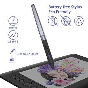 Image 3 - Huion H610プロV2 10X6.25inグラフィック描画タブレットデジタルペン絵画錠チルト機能打者の送料とエクスプレスキー