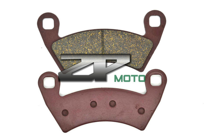 Organic Kevlar Brake Pads For POLARIS RZR XP1000 2014 14 Front & Rear Brand New High Quality organic kevlar brake pads for kawasaki atv kxt250 b2 tecate 87 klf 300 bayou 88 04 front kxt 250 tecate 85 86 front