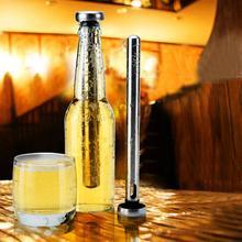 Set von 2 Design-edelstahl-bierkühler-stick Edelstahl Gefühlt Alkohol Eis Getränke Wein Kalt