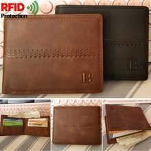 Dollar Wallet Slim Purse Wallets for Men Rfid Blocking Money Purses Wallets for men with Card Holder 2019 Fashinal(China)