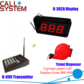 Wireless Queue Calling Number System with Ticket dispenser, Monitor, Keyboard Туалет
