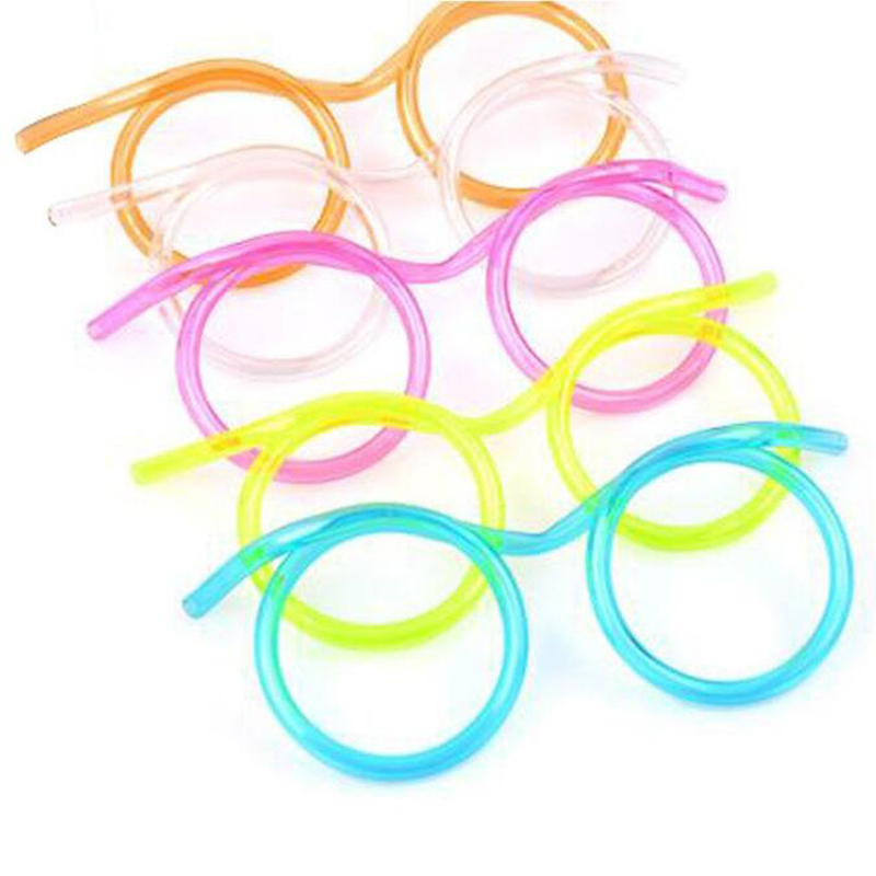 Keythemelife-Creative-Straw-Transparent-Funny-Stylish-Glasses-Straws-Plastic-Party-Supplies-Gift-For-Kids (1)