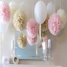 GSCRAFTS 5pcs 20 25 30 cm Tissue Paper Pom Poms Paper Flower Ball font b Pompom