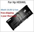 48wh 14.8 В батарея для HP HD04XL HSTNN-IB3V 685866-1B1 685866 - 171 для зависть Spectre XT 13-2120tu 13-2021tu 13-2000eg