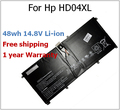 48wh 14.8 V batería para HP HSTNN-IB3V HD04XL fan 685866-1B1 685866-171 para Envy Spectre XT 13-2120tu 13-2021tu 13-2000eg