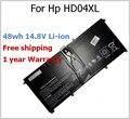 48wh 14.8V Battery for HP HD04XL HSTNN-IB3V 685866-1B1 685866-171 for Envy Spectre XT 13-2120tu 13-2021tu 13-2000eg
