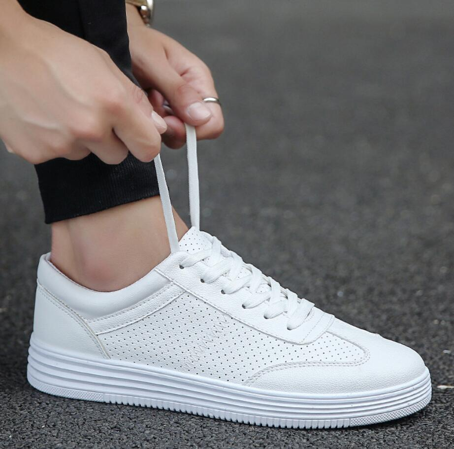 Brand Mesh chunky Shoes Men Breathable tenis White Men's designer Sneakers Shoes Male Walking Footwear Fashion Summer Walkerpeak