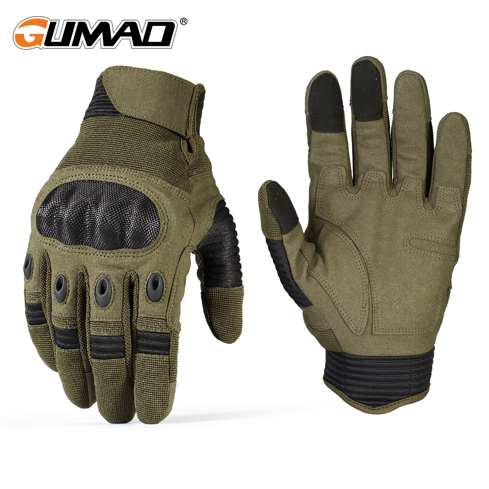 Touch Screen Military Tactical Gloves Army Paintball Shooting Climbing Hiking Airsoft Combat Hard Knuckle Full Finger Gloves