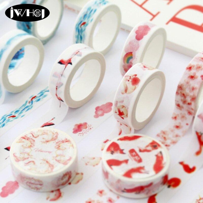 1.5cm×7M life styles decorative Adhesives Washi paper tape masking tape