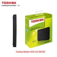 새로운 toshiba 500 gb 외장형 hdd 휴대용 하드 드라이브 디스크 hd 2.5