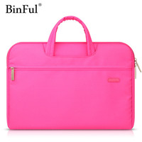 BINFUL Waterproof Handbag Laptop Bag 11 12 13 14 15 15 6 Women Men Notebook Bag