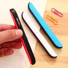 Deli 0600 портативные ножницы для резки бумаги карманные ножницы складные безопасные ножницы