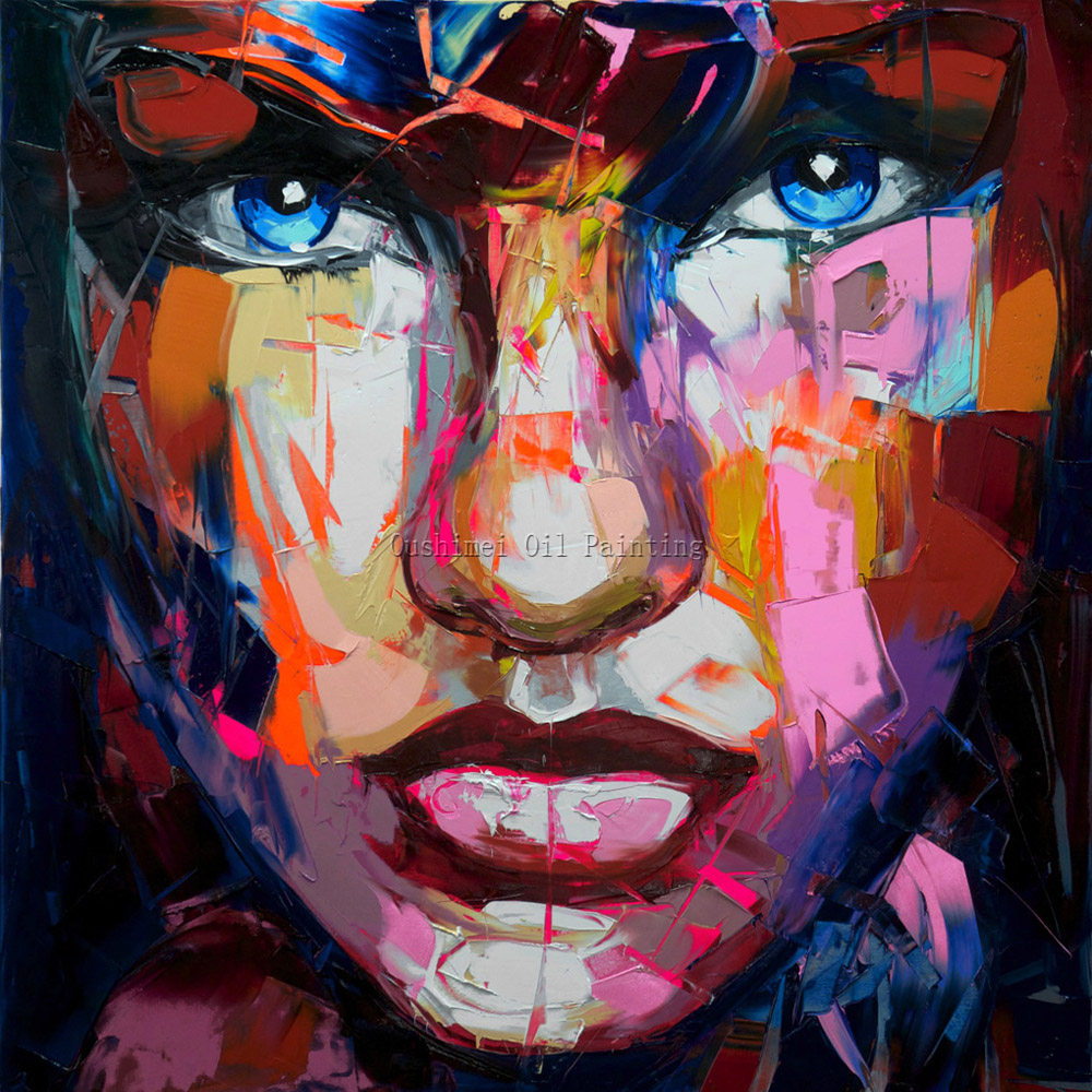 Master level artist hand painted high quality abstract for Hand painted portraits from photos