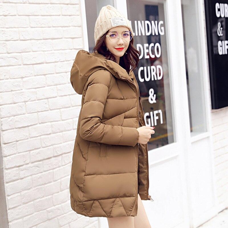 Зимние Куртки Для женщин 90% белый Мужские парки свободная посадка плюс Размеры пальто с капюшоном средней длины Теплый Повседневное Розовый снег Верхняя одежда Подпушка куртка