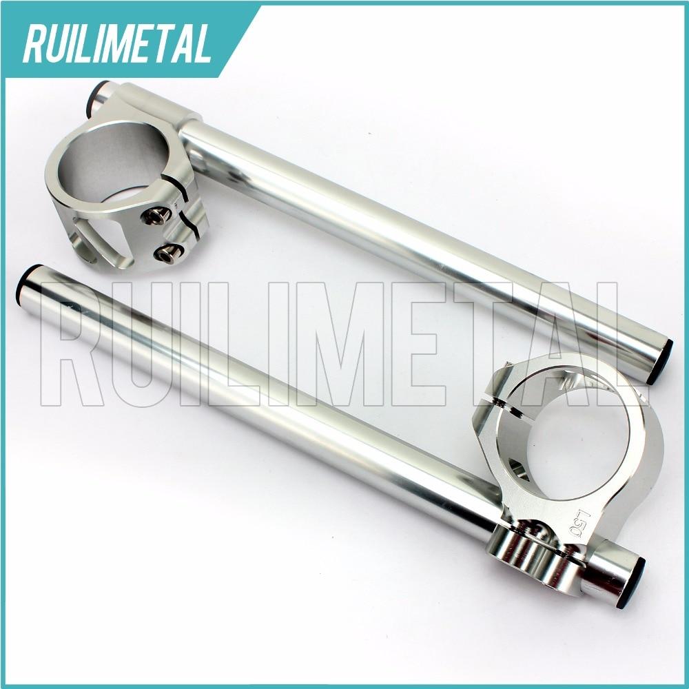 33MM Clip Ons handlebar handle bar For SUZUKI GN250 GS250 GT250 Hustler GS300 GT380 Sebring GS400 GS425 GS450 80 81 82