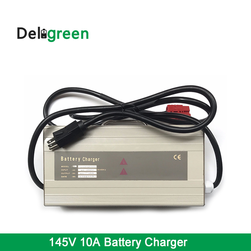 Fast Charging lead acid LiFePO4,li-ion 18650 Battery Charger 1500W 145V10A For Electric Electric lawn mower,Bus in Chargers 18650 li ion battery charging stand in car charger travel charger set black