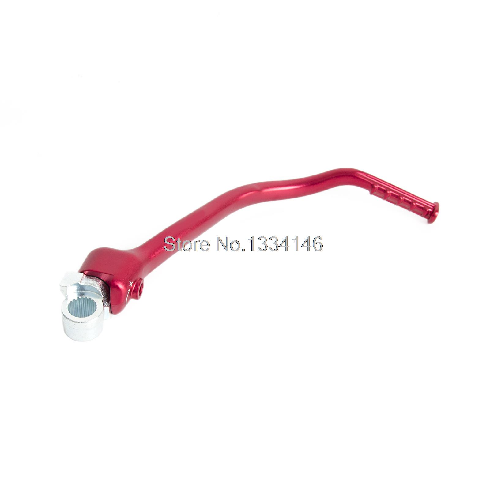 ФОТО Anodized Red Forged Kick Start Lever for Honda CRF250R 2012-2016 13 14 15