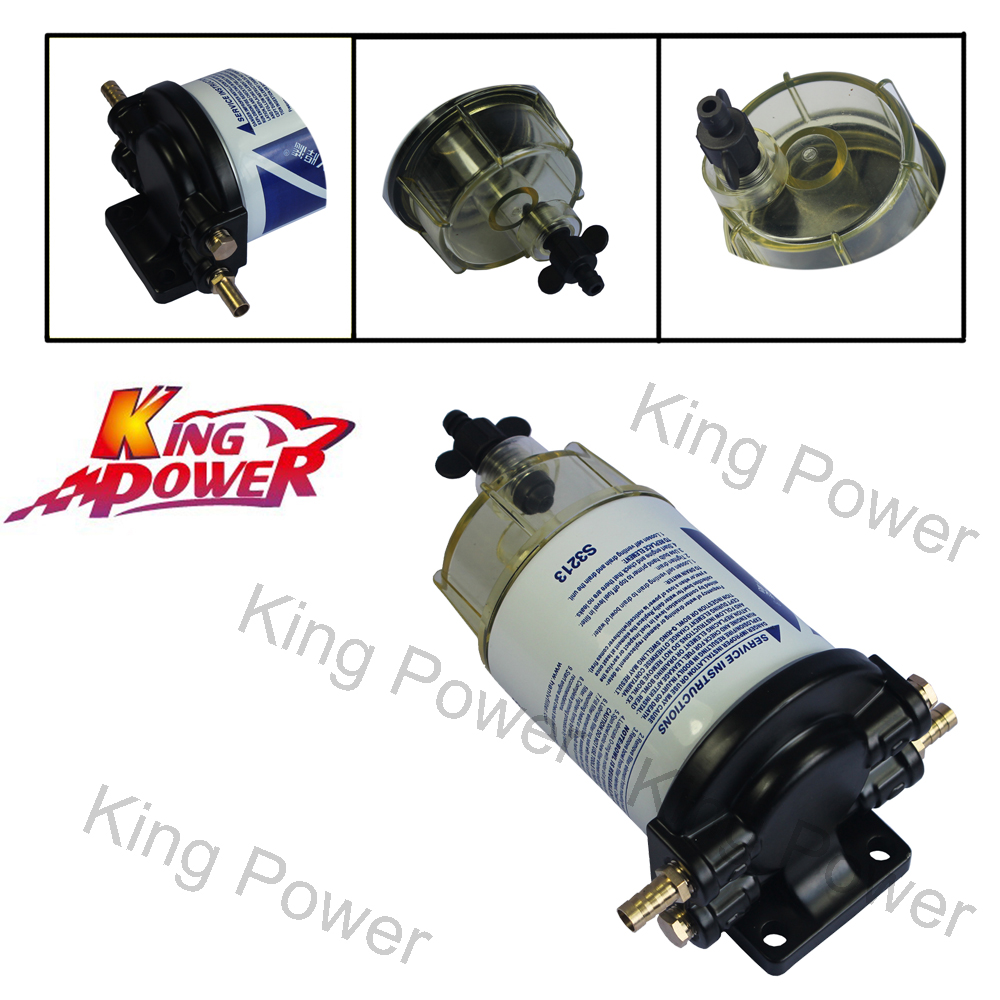 "FREE SHIPPING - KP - New 3/8"" NPT Water Separating Fuel Filter System"